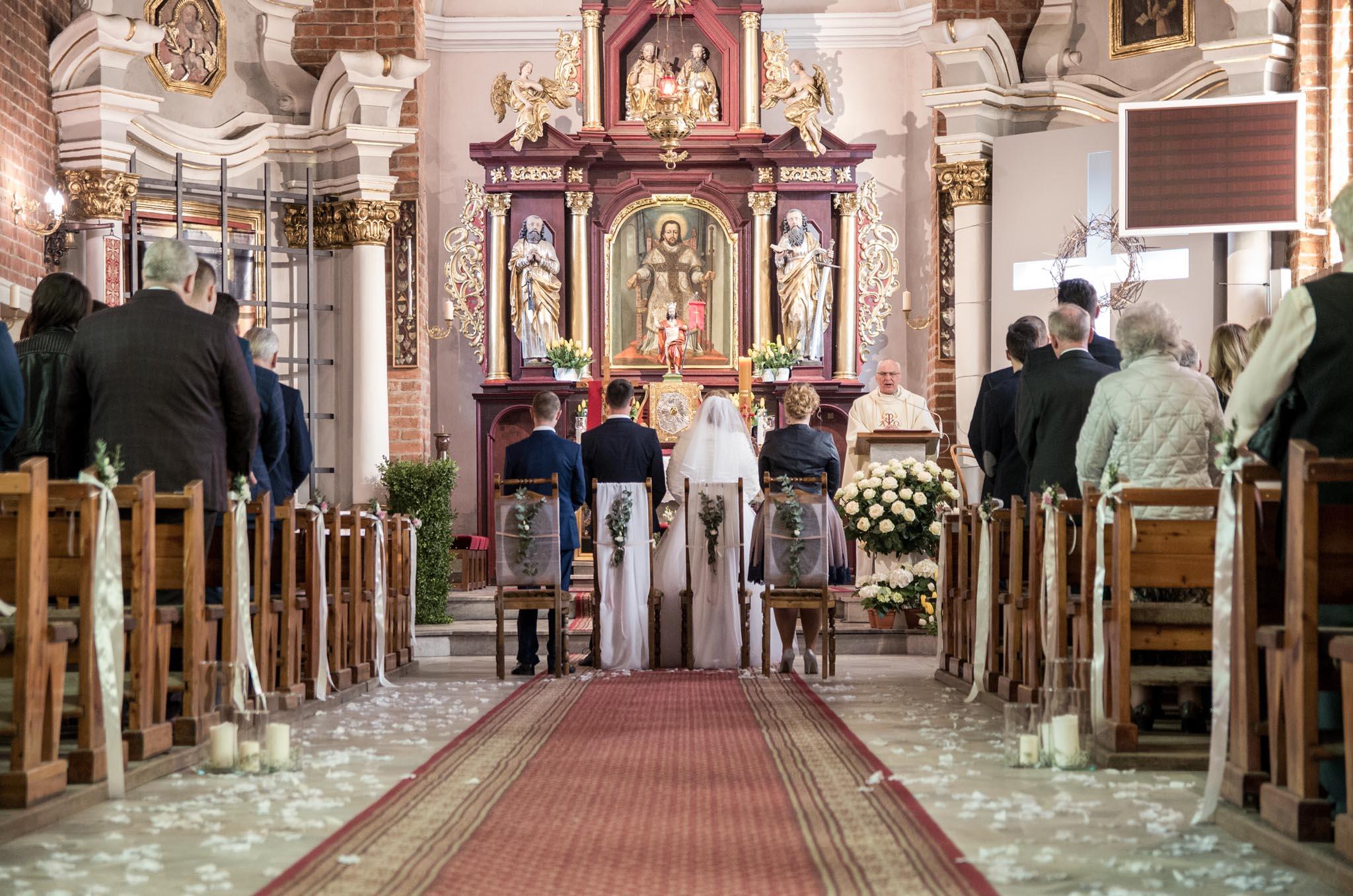 Fotografia ślubna- parafia pw. św. Jakuba Apostoła