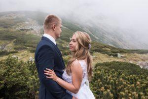 Sesja ślubna w Tatrach- fotograf ślubny