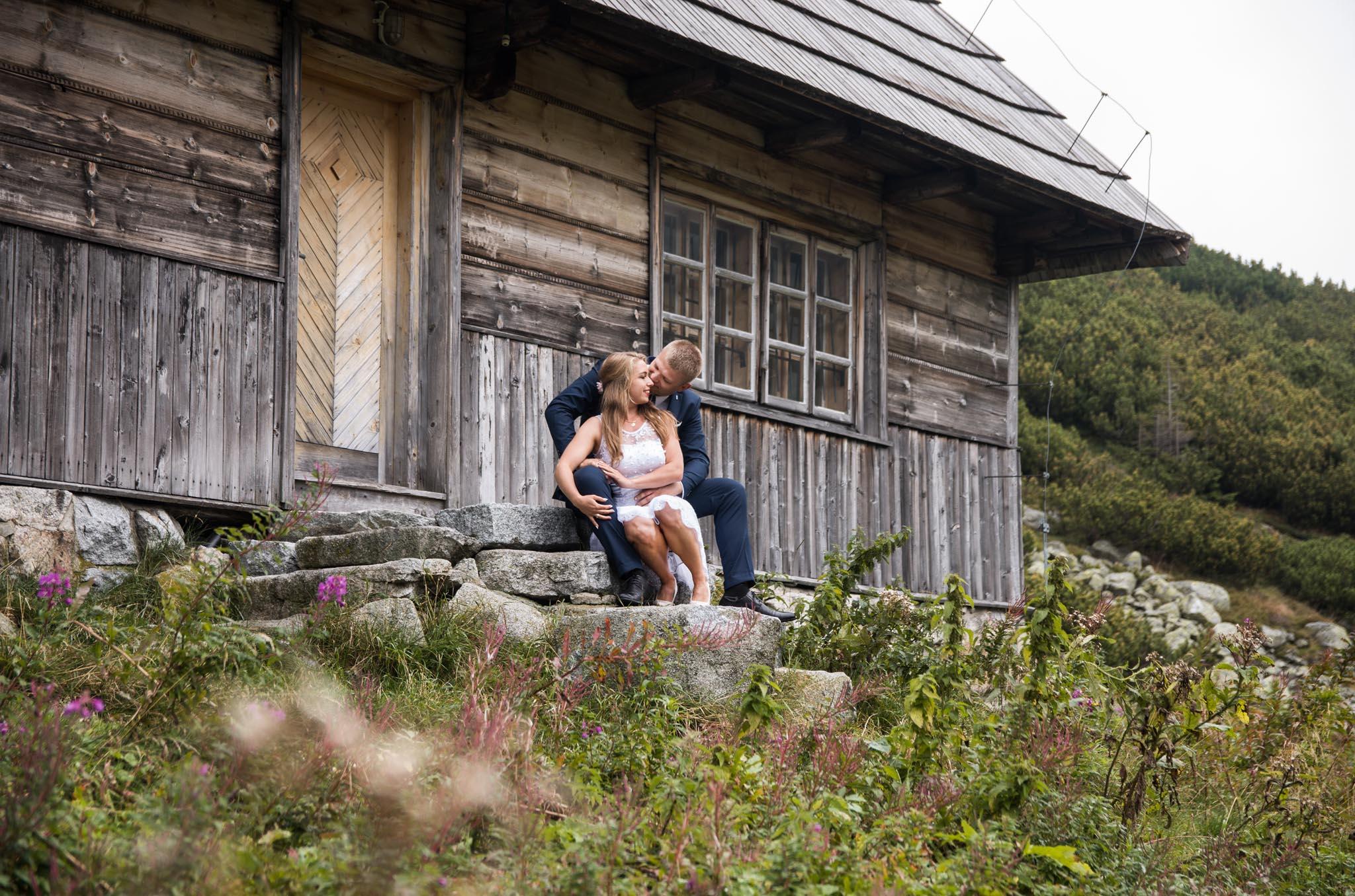 Sesja ślubna w Tatrach- Dolina Pięciu Stawów Polskich