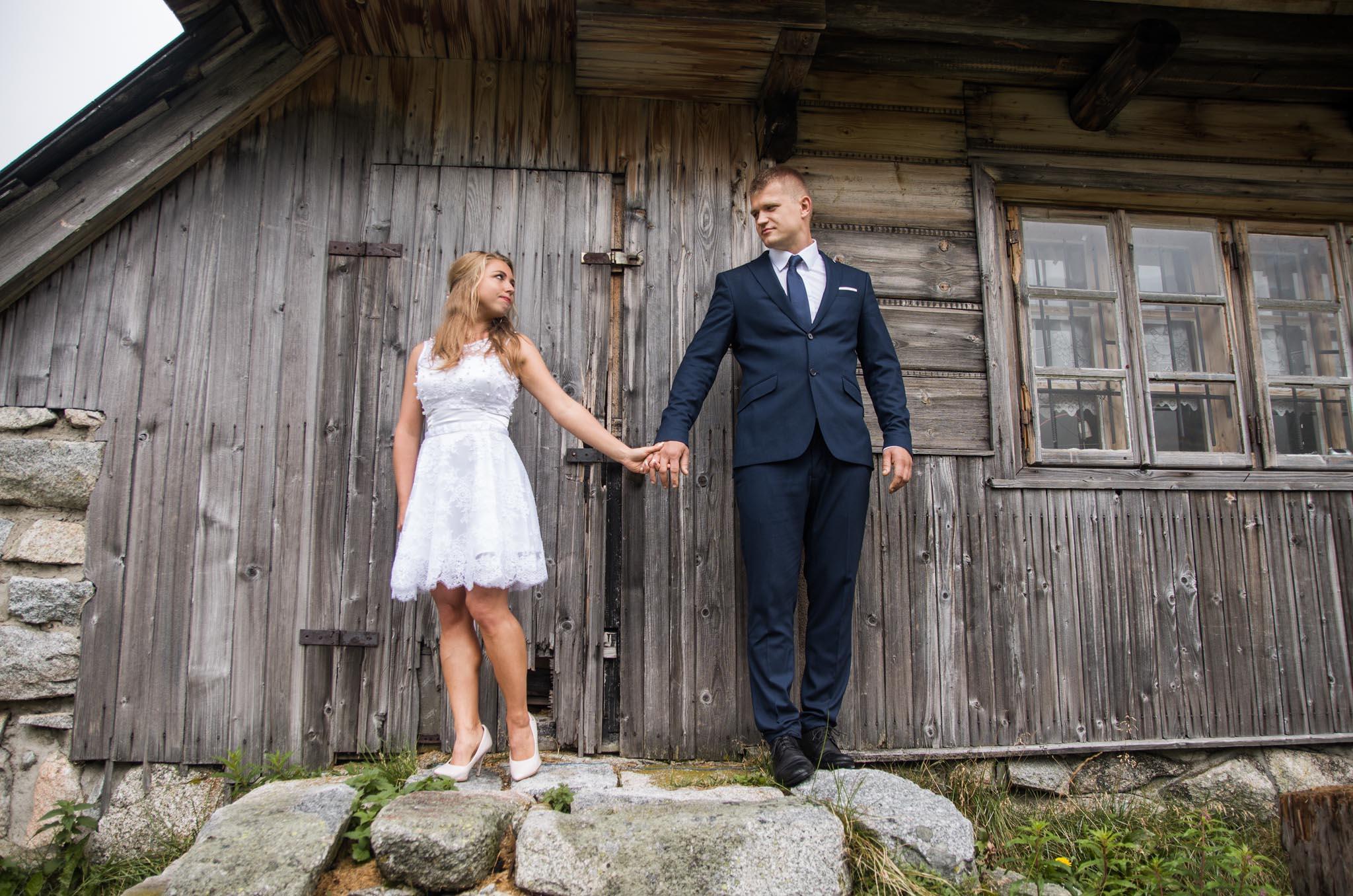 fotograf ślubny-Sesja ślubna w Tatrach